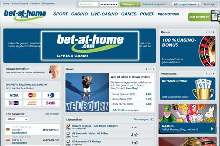 bet at home: Bonus