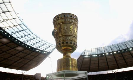 Fussball DFB Pokal Finale in Berlin