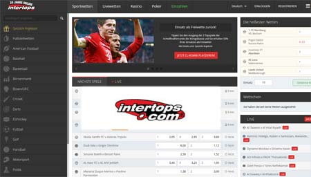 intertops wetten